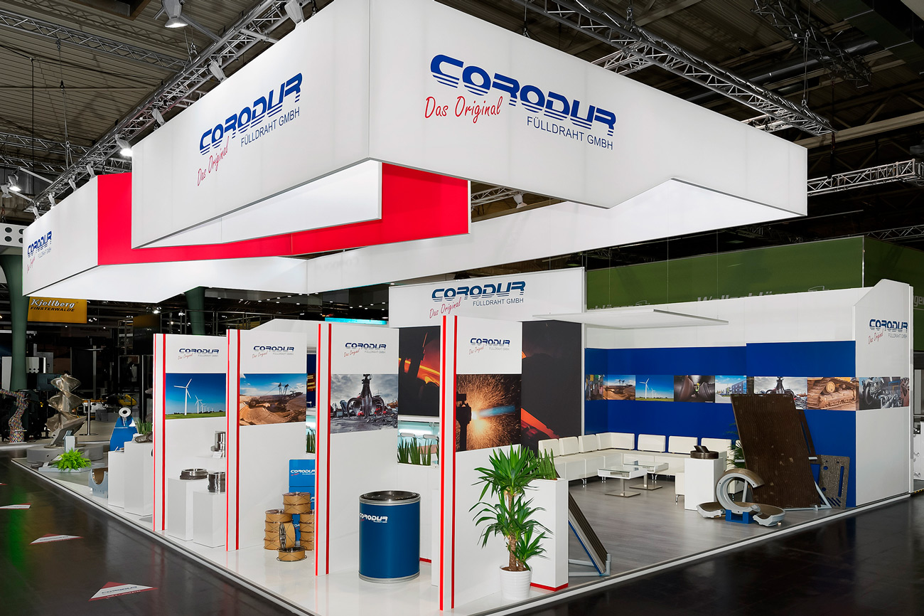 Trade fair stand Corodu Schweißen Schneiden 2013 Essen