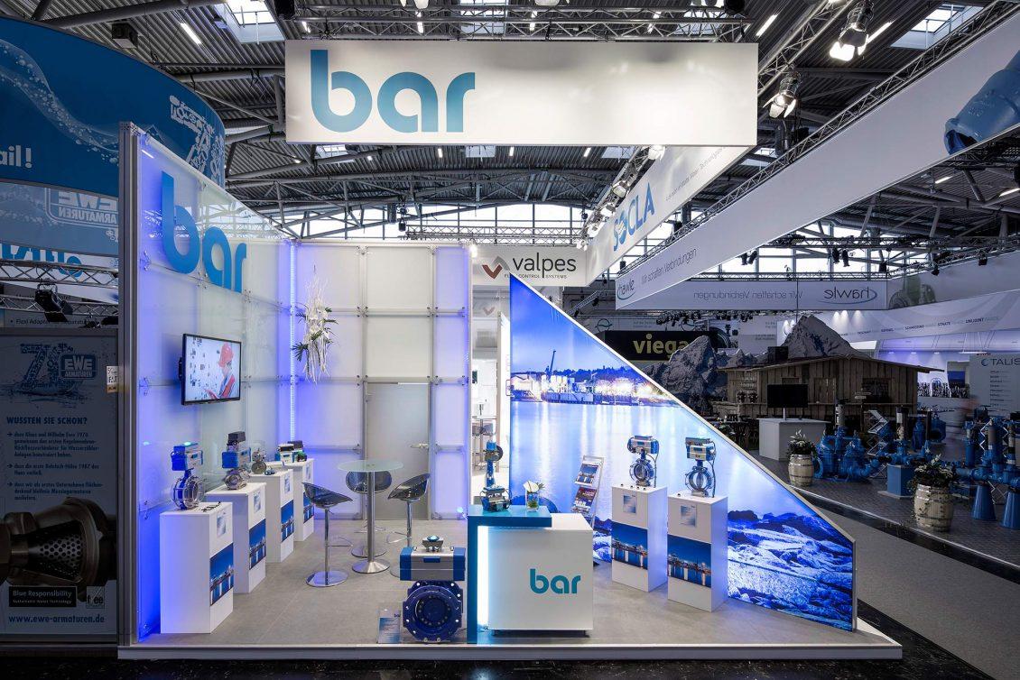 Messestand bar IFAT 2016 München