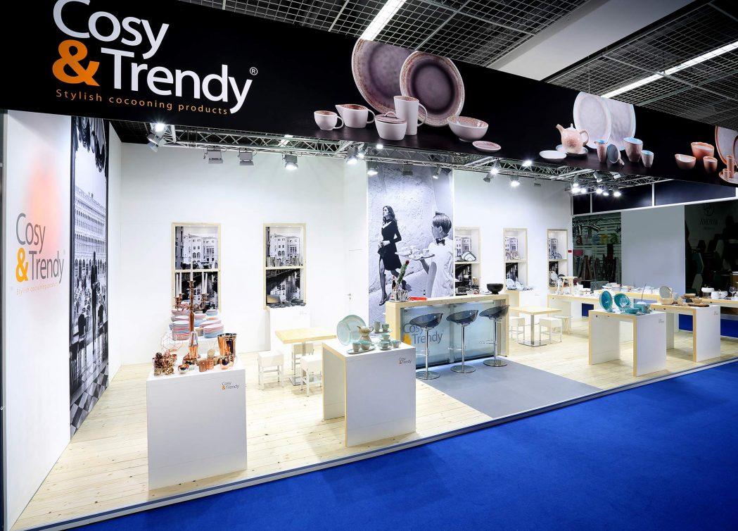 Messestand Cosy Trendy Ambiente 2016 Frankfurt