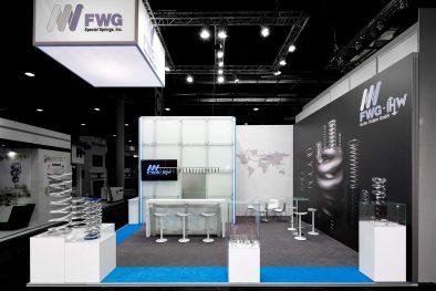 Messestand FWG Valve World 2016 Düsseldorf