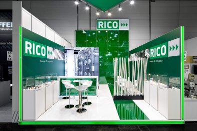 Messestand Rico K 2016 Düsseldorf