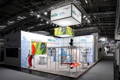 Messestand Wilo IFAT 2016 München