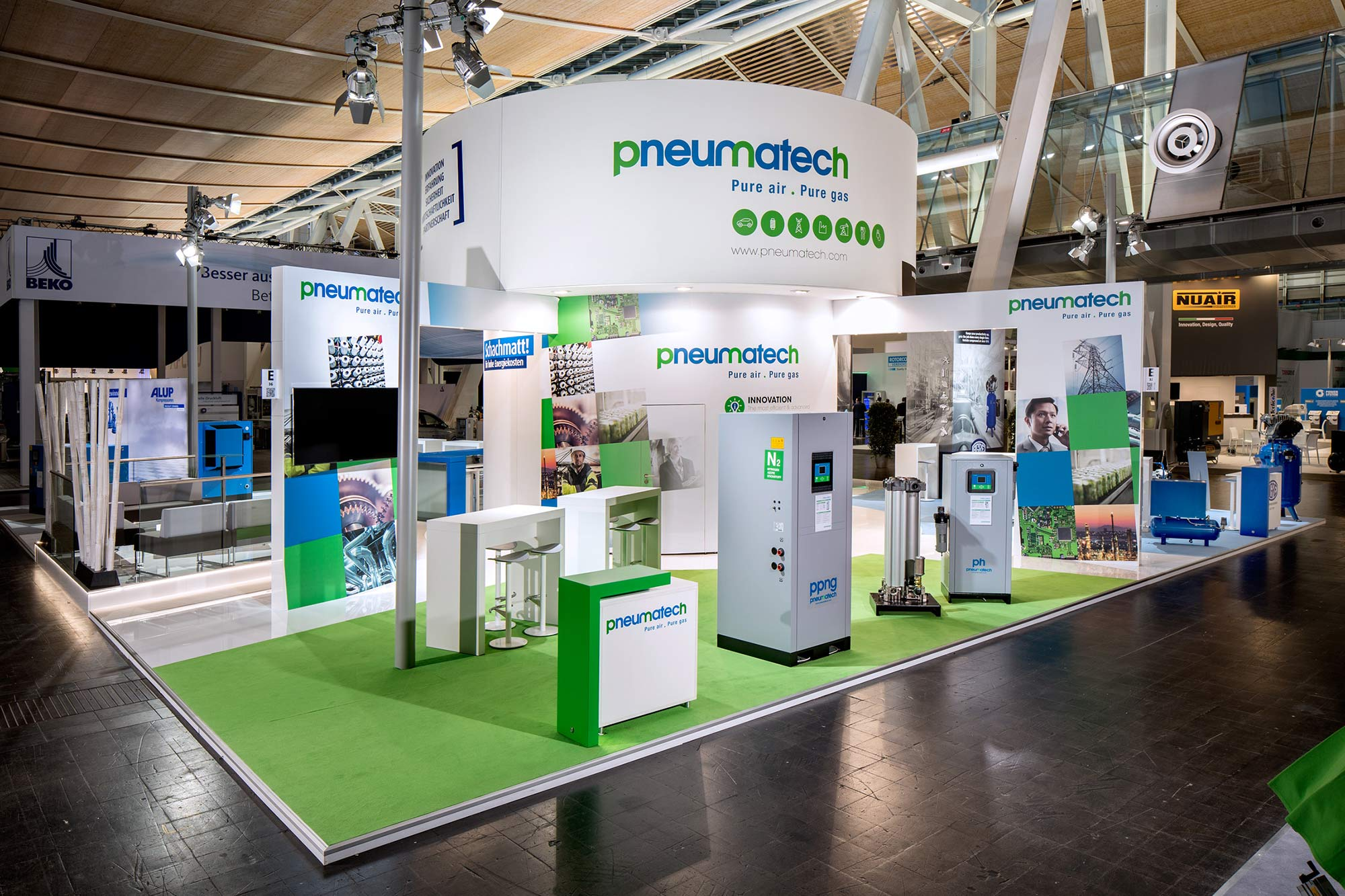 Messestand Alup HMI 2017 Hannover