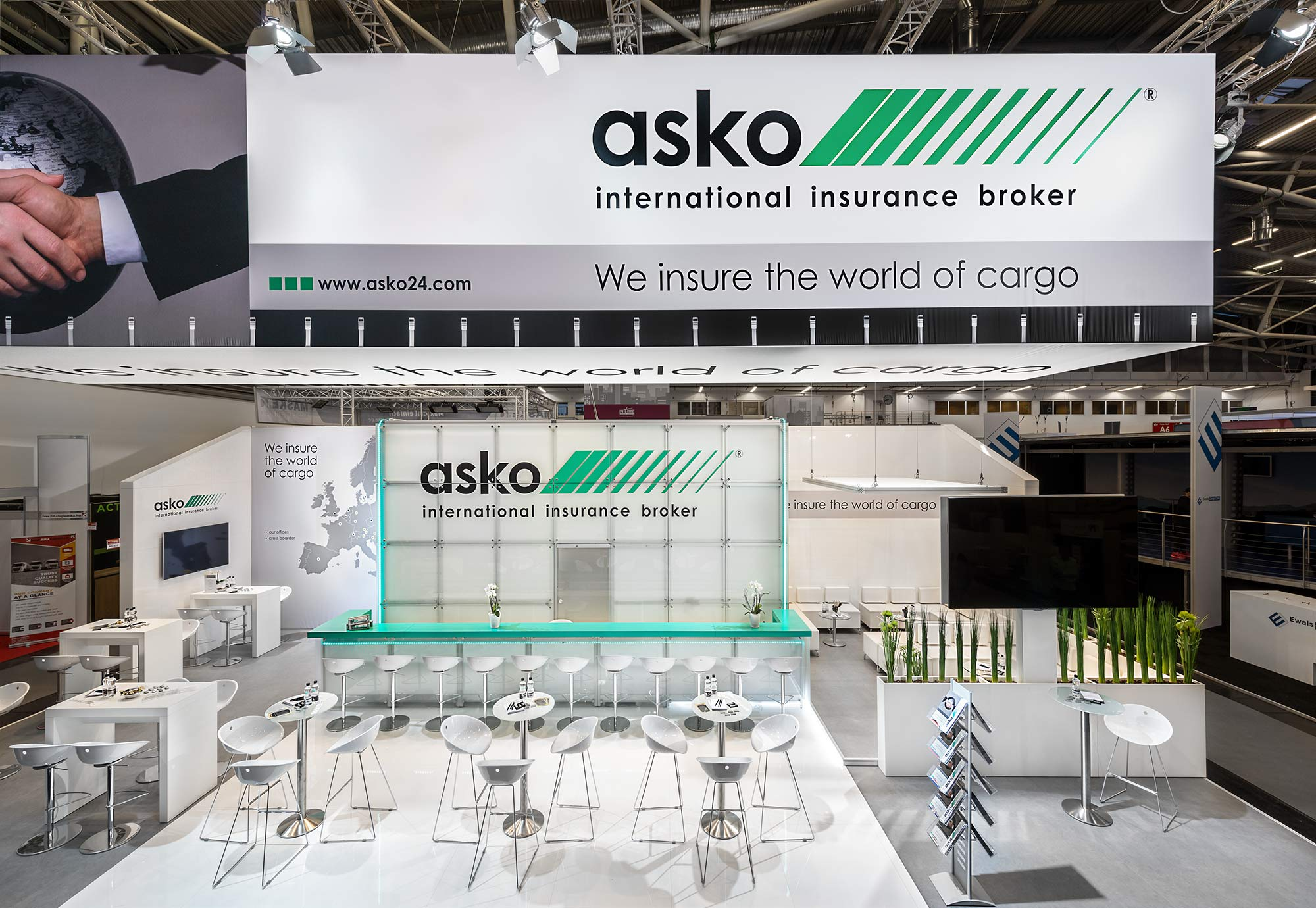 Messestand Asko transport logistic 2017 München