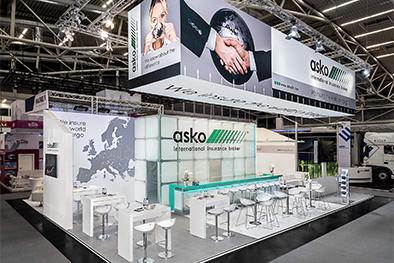 Messestand Asko transport logistic 2017 München