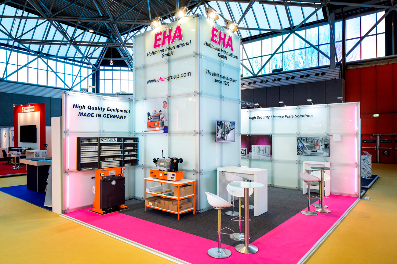Trade fair stand EHA Hoffmann Intertraffic 2018 Amsterdam