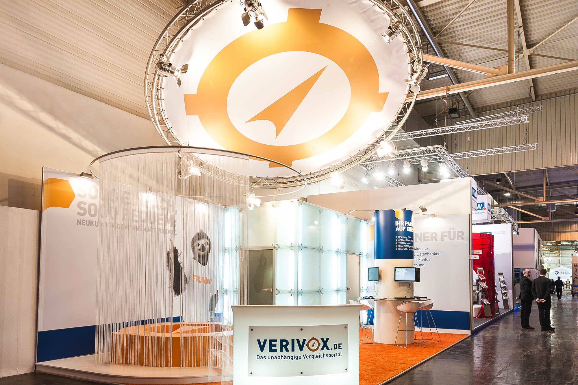 Messestand Verivox E-World Energy 2013 Essen