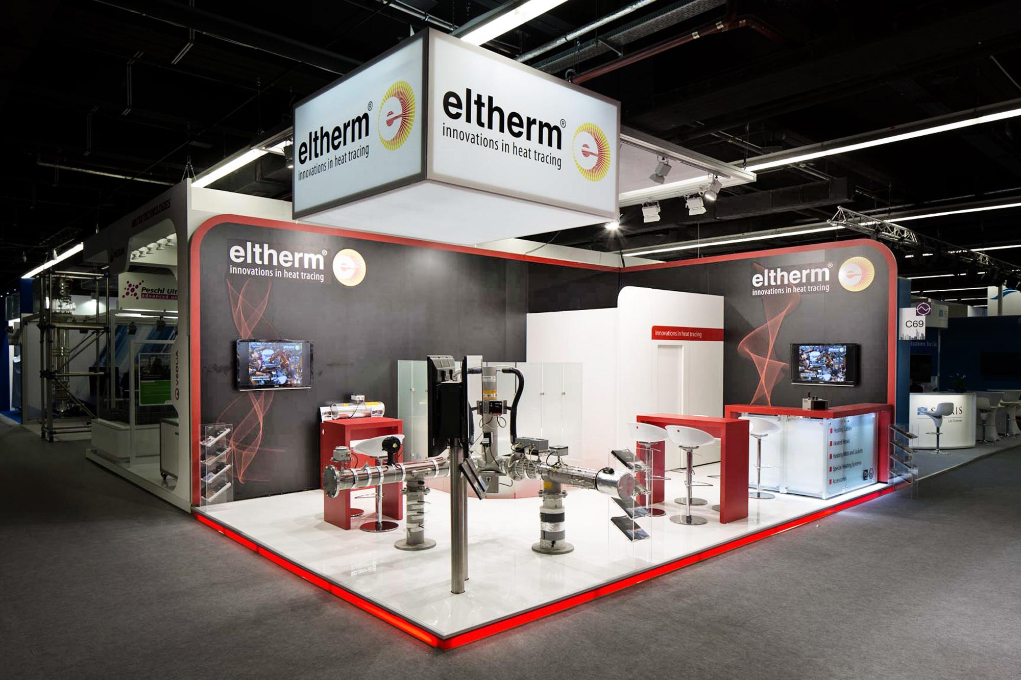 Messestand Eltherm Achema 2015 Frankfurt