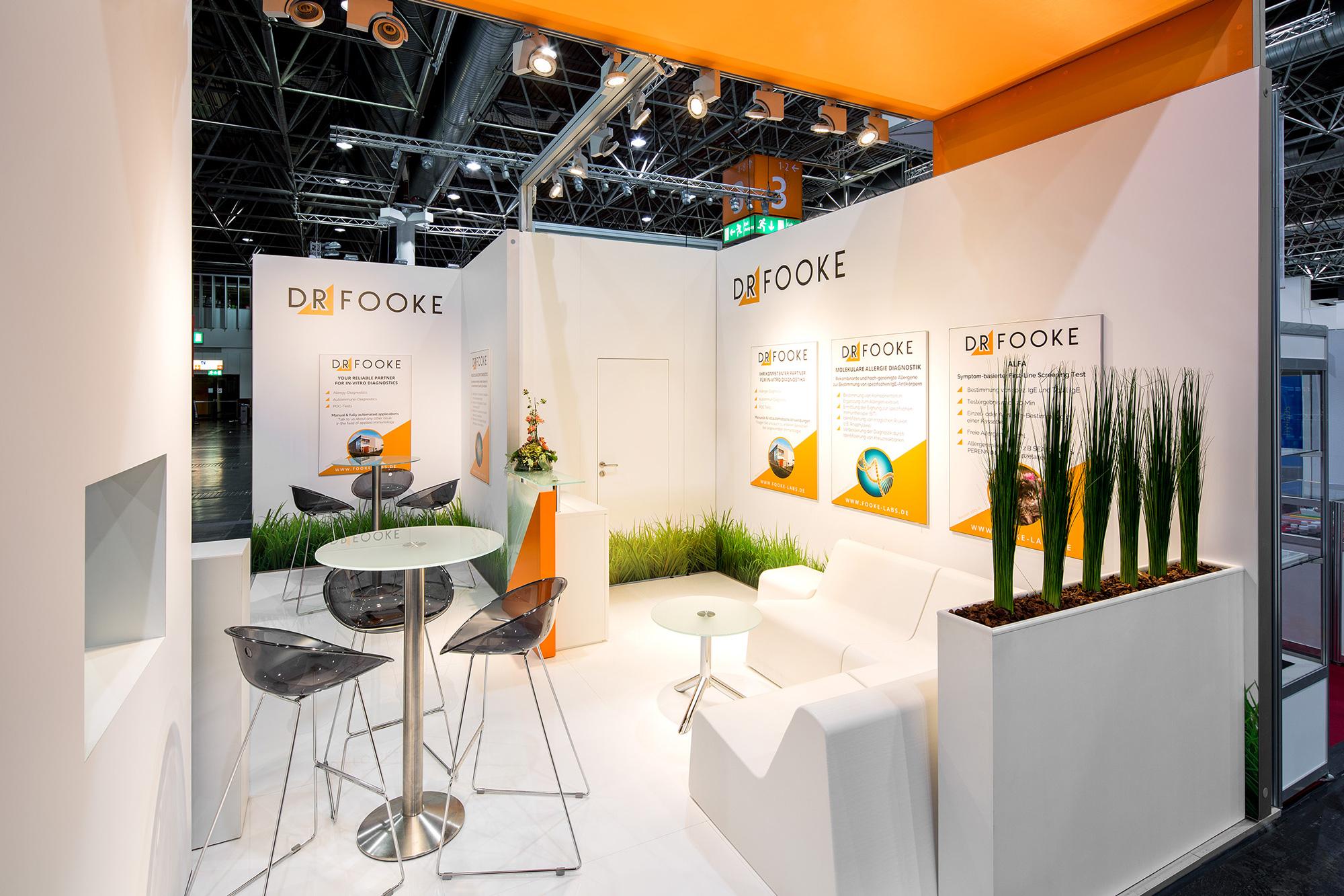 Messestand Dr. Fooke Medica 2015 Düsseldorf