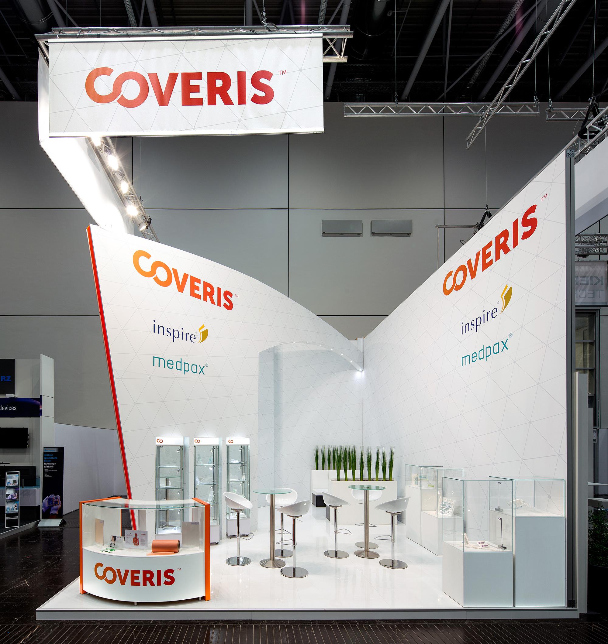 Messestand Coveris Compamed 2015 Düsseldorf