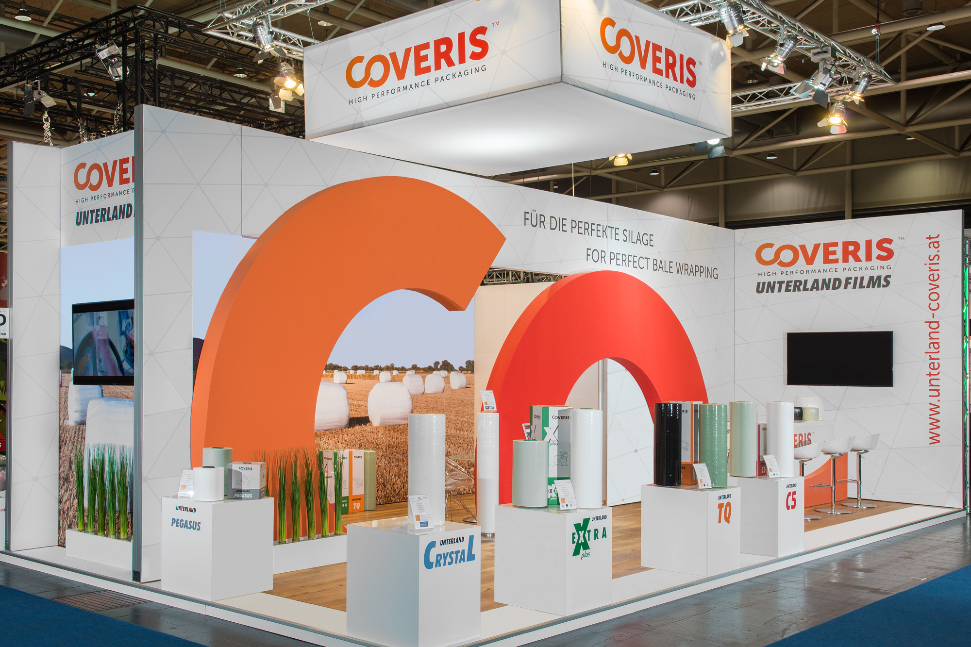 Messestand Coveris Agritechnica 2017 Hannover