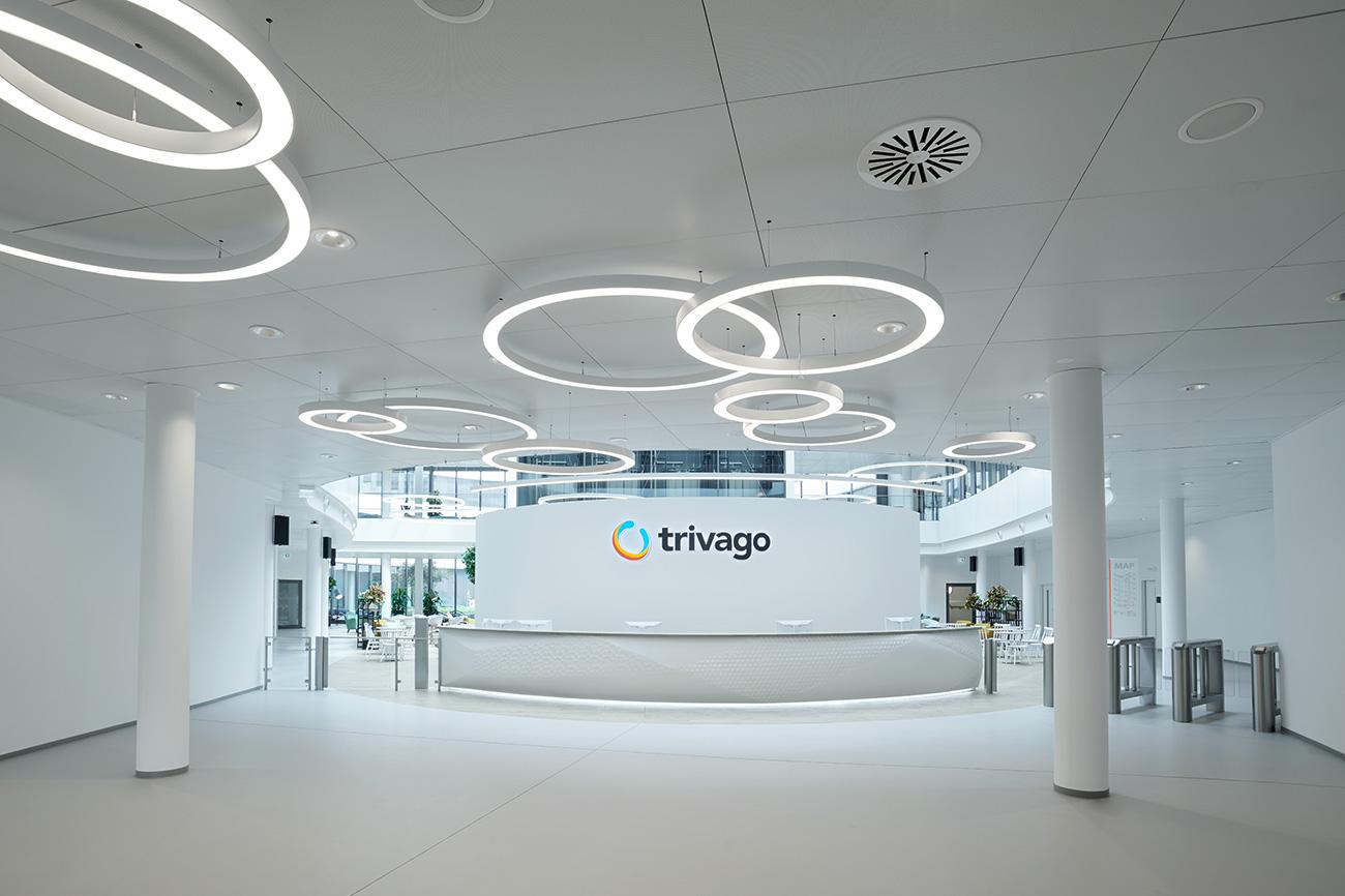 Trivago Campus Rundwand 2018 Düsseldorf