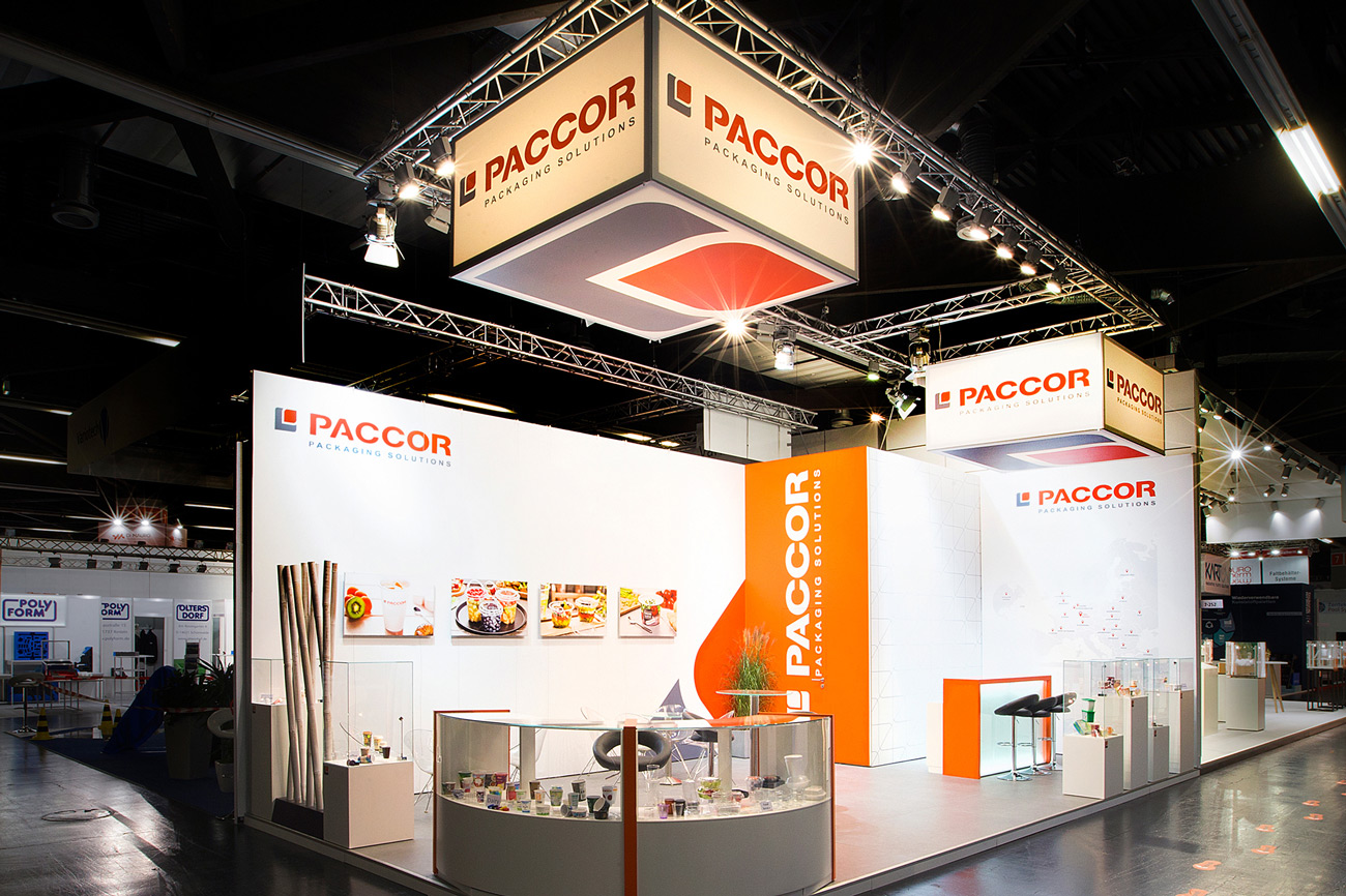 Messestand Paccor Fachpack Nürnberg 2018