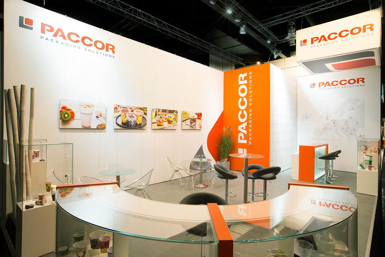Trade Fair Stand Paccor Fachpack 2018 Nuremberg