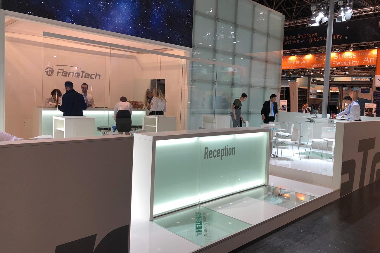 Trade Fair Stand FeneTech Glasstec 2018 Düsseldorf