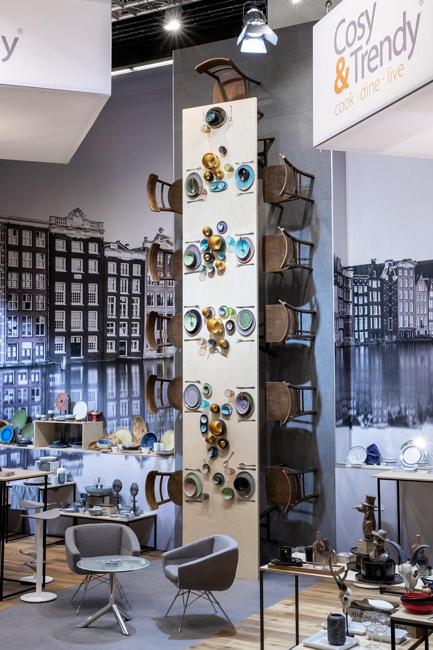 Messestand Cosy Trendy Ambiente 2019 Frankfurt