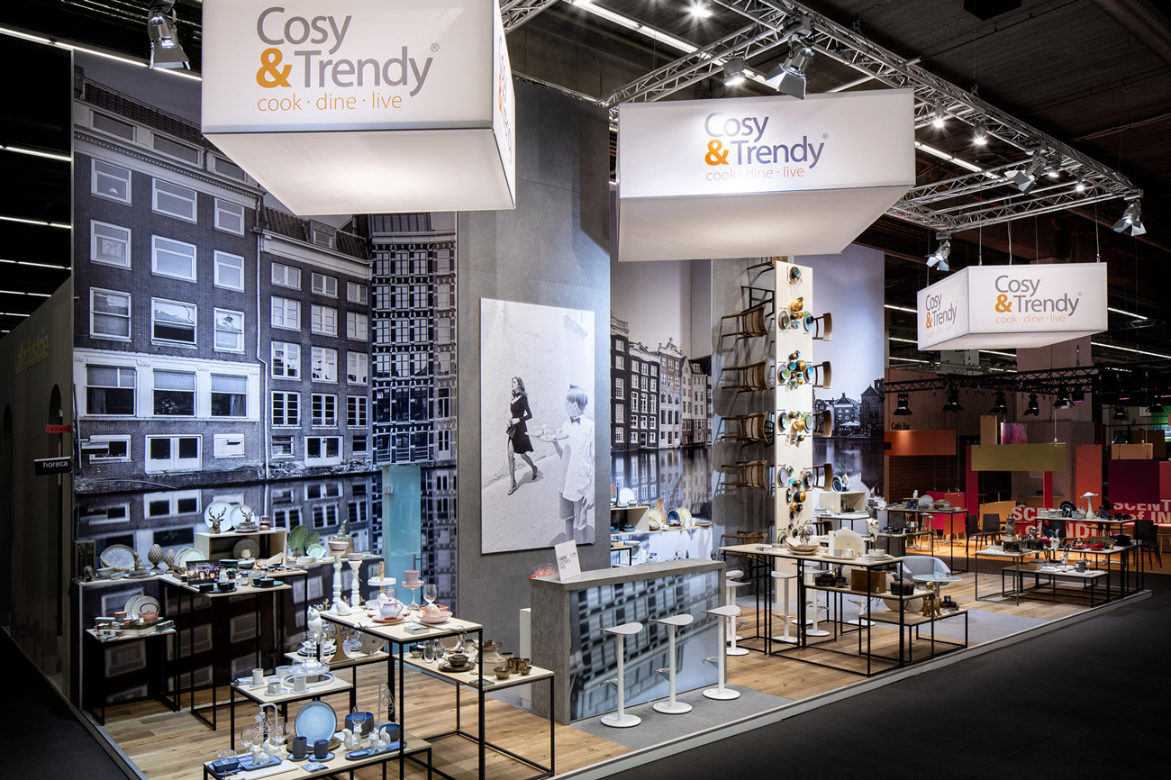 Messestand Cosy Trendy Ambiente 2019 Frankfurt