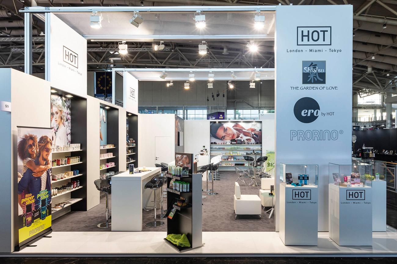 Messestand Hot EroFame 2018 Hannover