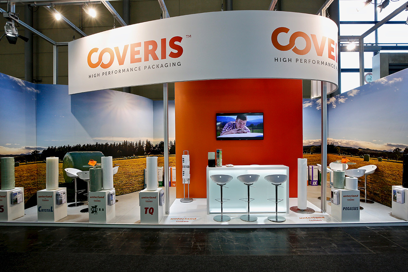 Trade fair stand Coveris Agritechnica 2019