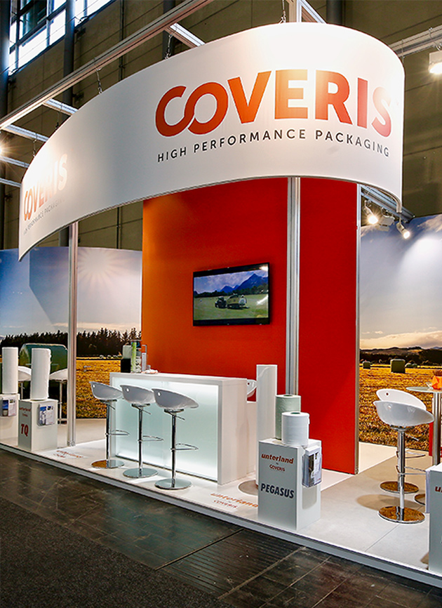 Messestand Coveris Agritechnica Hannover 2019