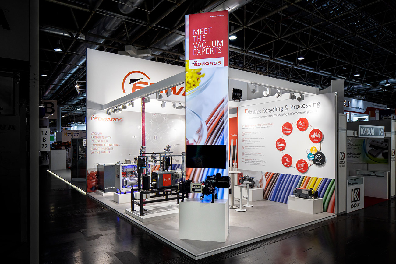 Trade Fair Stand Edwards K 2019 Düsseldorf