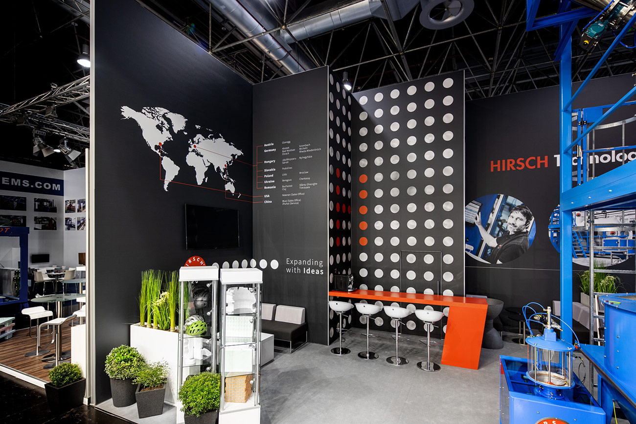 Messestand Hirsch K 2019 Düsseldorf