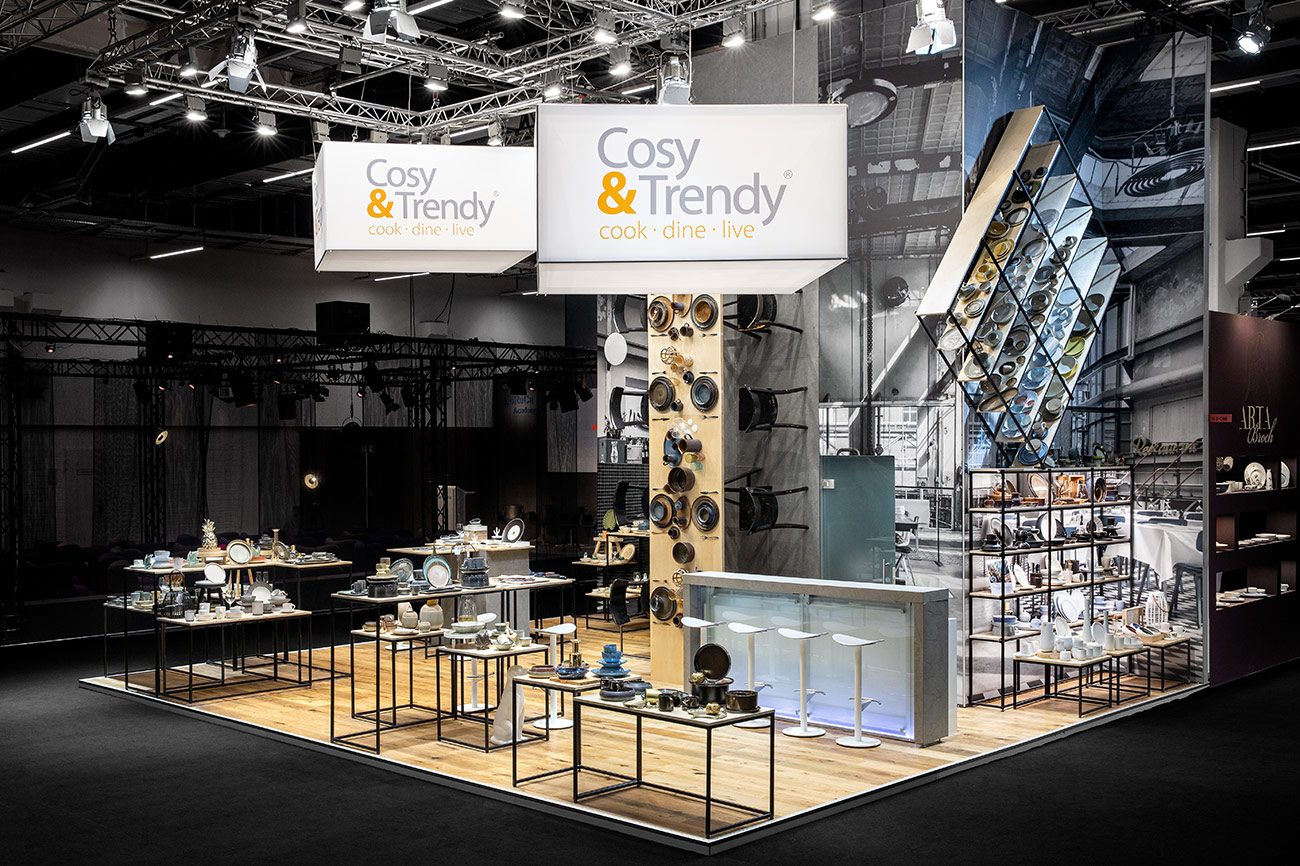 Messestand Cosy Trendy Ambiente Frankfurt 2020