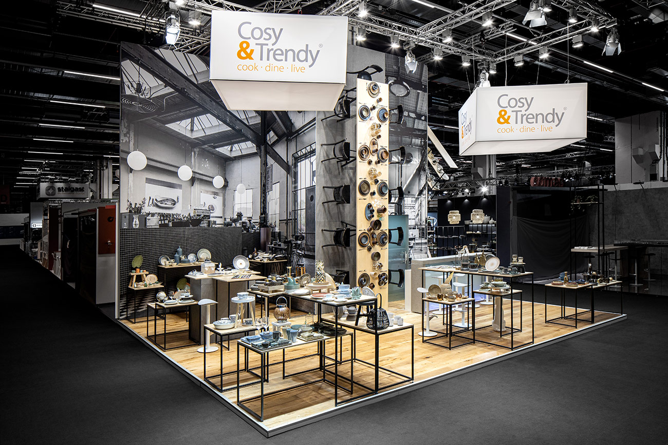 Messestand Cosy Trendy Ambiente Frankfurt 2020
