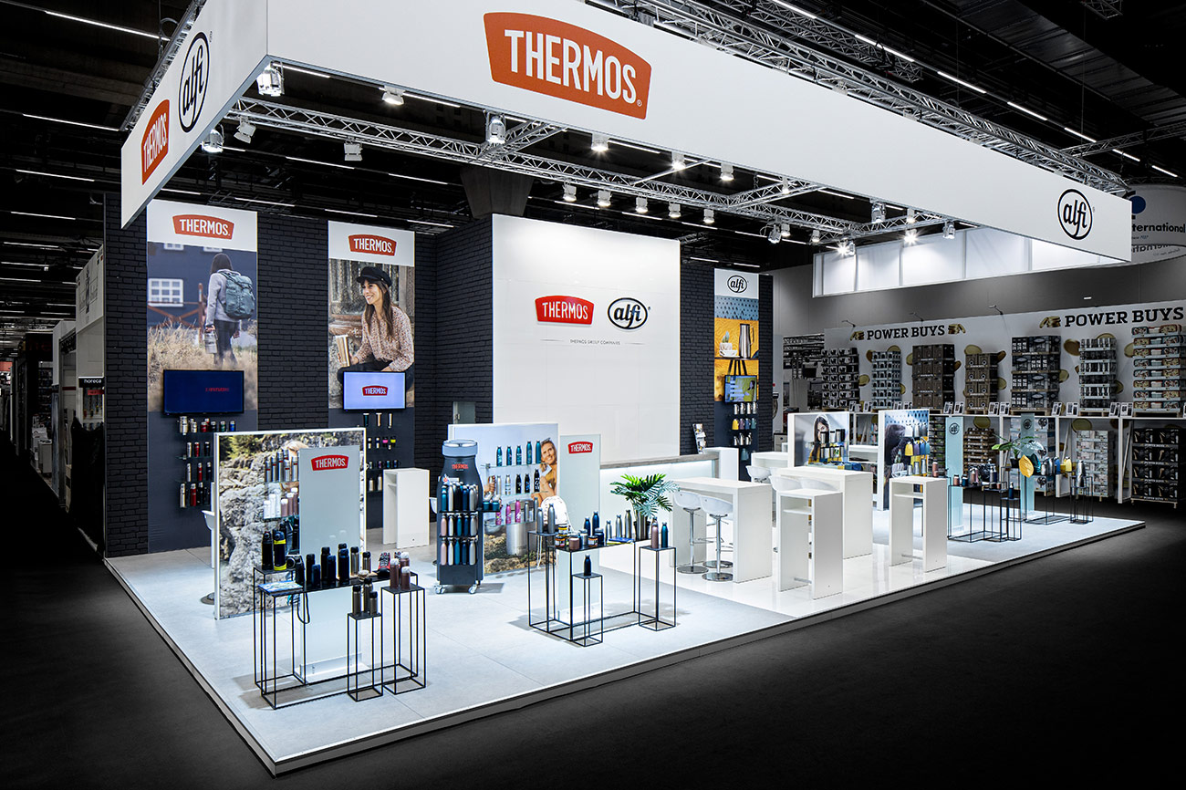 Trade fair stand Alfi Thermos Ambiente Frankfurt 2020