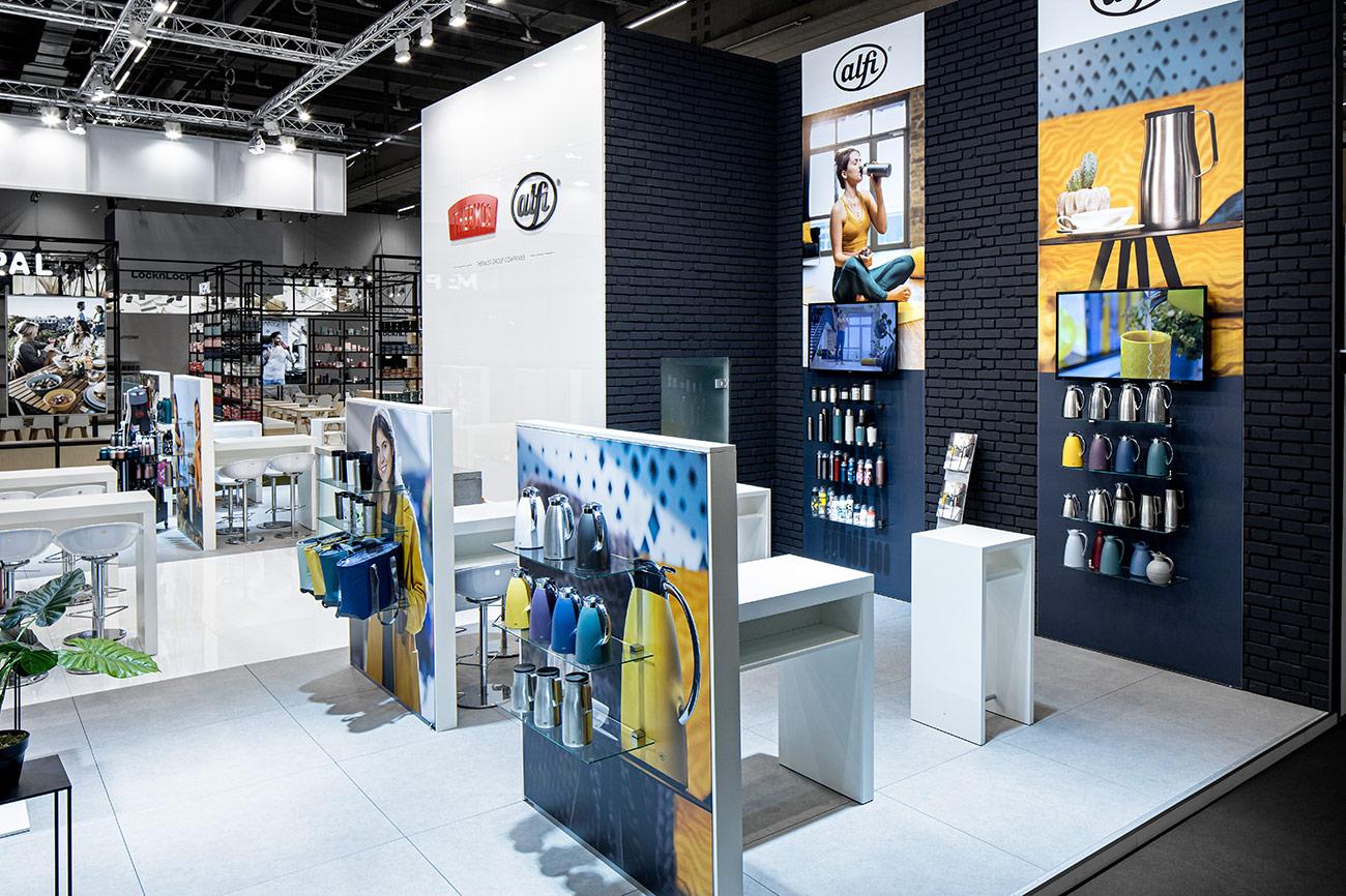 Messestand Alfi Thermos Ambiente Frankfurt 2020