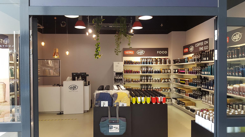 Ladeninnenausbau Alfi Thermos Outlet Rostock