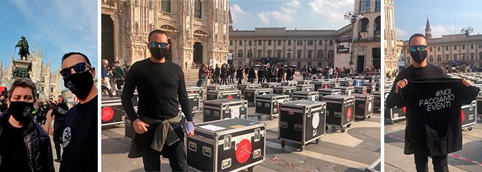 Eventprotest Mailand
